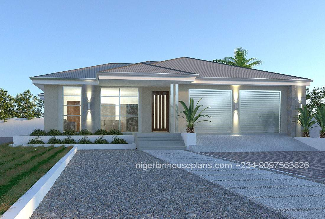 Bedroom House Plans Designs Nigeria