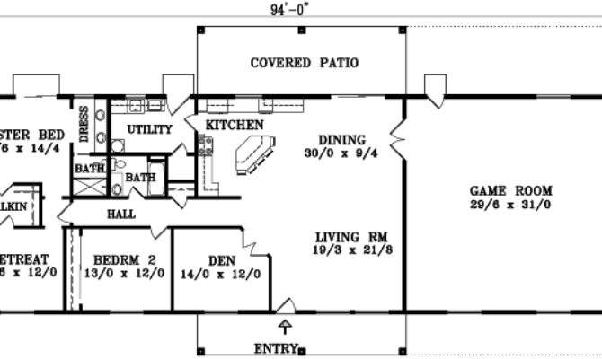 Bedroom House Plans Single Story Home Deco