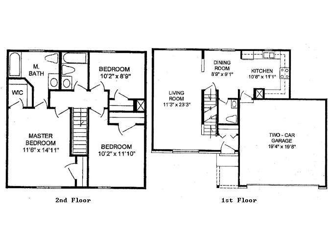 Bedroom Story House Floor Plans Quotes