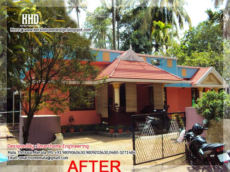 Before After Modification Existing House Home Appliance