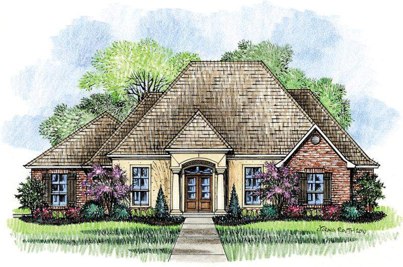 Bella Country French House Plan Designs Home Plans