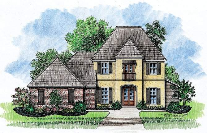 Bellmont Country French Home Plans
