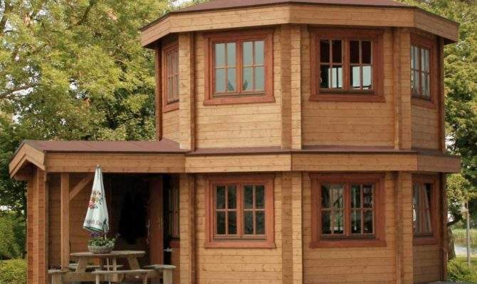Bertsch Toulouse Log Cabins Summer House Two Storey