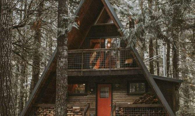 Best Frame Cabin Ideas Pinterest House