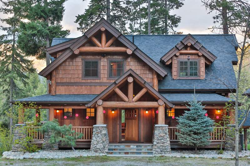Best Homes Year Natural Elements Timber Frames Home