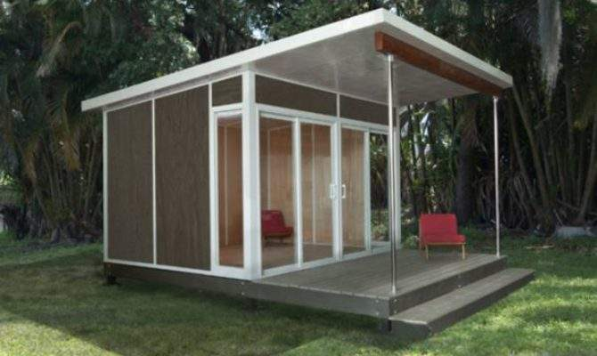 Best Prefabricated Outdoor Home Offices Designs