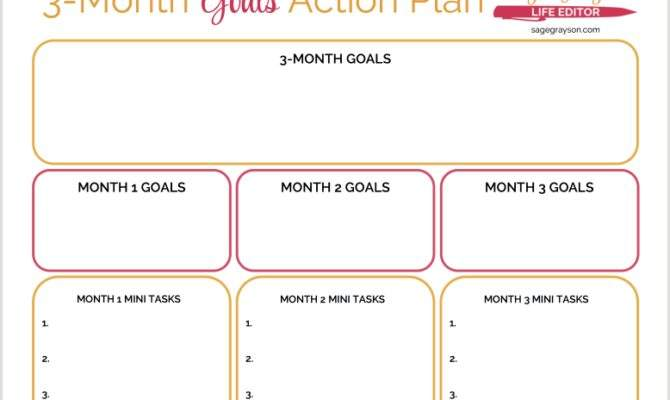 Best Simple Three Monthly Plans Ideas Home