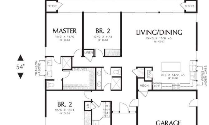 Best Small House Plans Attached Garages