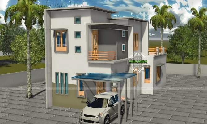 Bhk Double Storied House Kerala Home