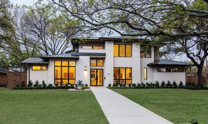 Big White Private House Large Windows Small