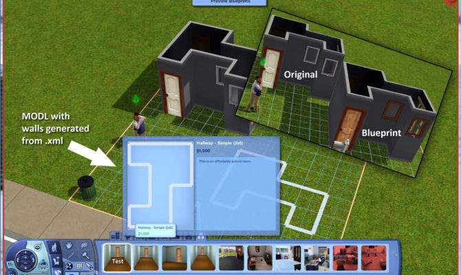 Blueprint Maker Sims Collections