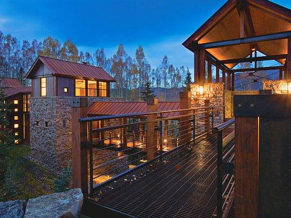 Bridge Contemporary Mountain Retreat Telluride