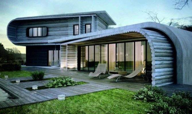 Build Artistic Wooden House Design Simple Modern