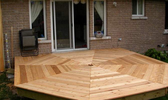 Build Octagonal Deck Todos Portugu