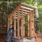 Build Outhouse Plans Diy Cabin Bed