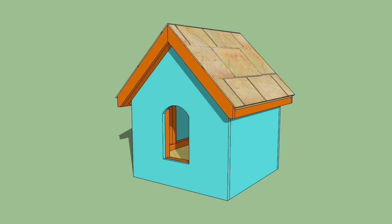 Build Small Dog House Howtospecialist Step