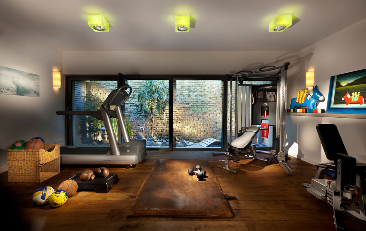 Build Your Own Home Gym Caprice Place Design