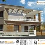 Building Elevations Designed Based Approved House Plans