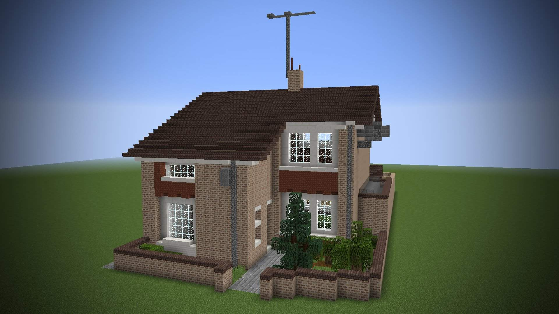 Building Real House Minecraft Youtube