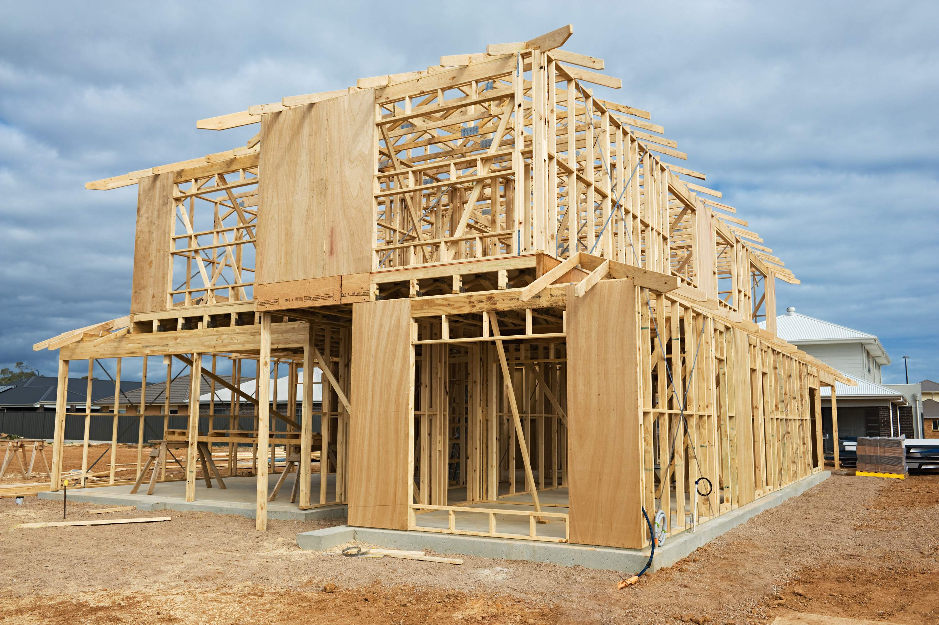 Building Wood House Home Decoration