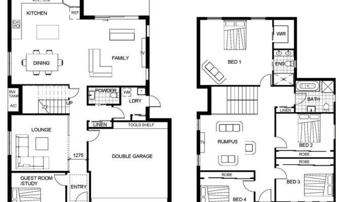 Buildworx Constructions Home Designs Two Storey Homes