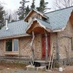 Built Beautiful Cordwood Cottage Near Diligent River Nova Scotia