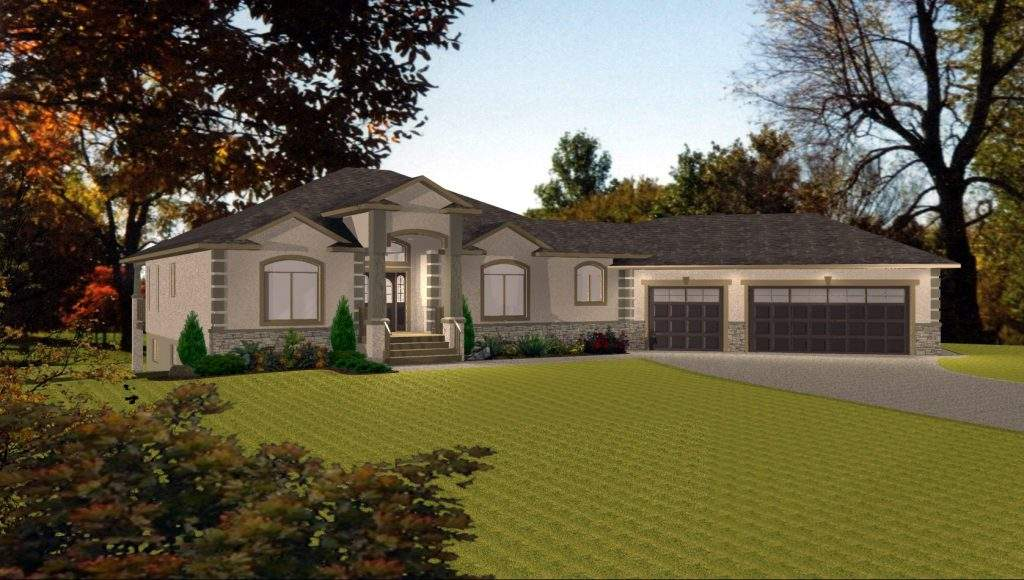 Bungalow House Plans Walkout Basement Lovely