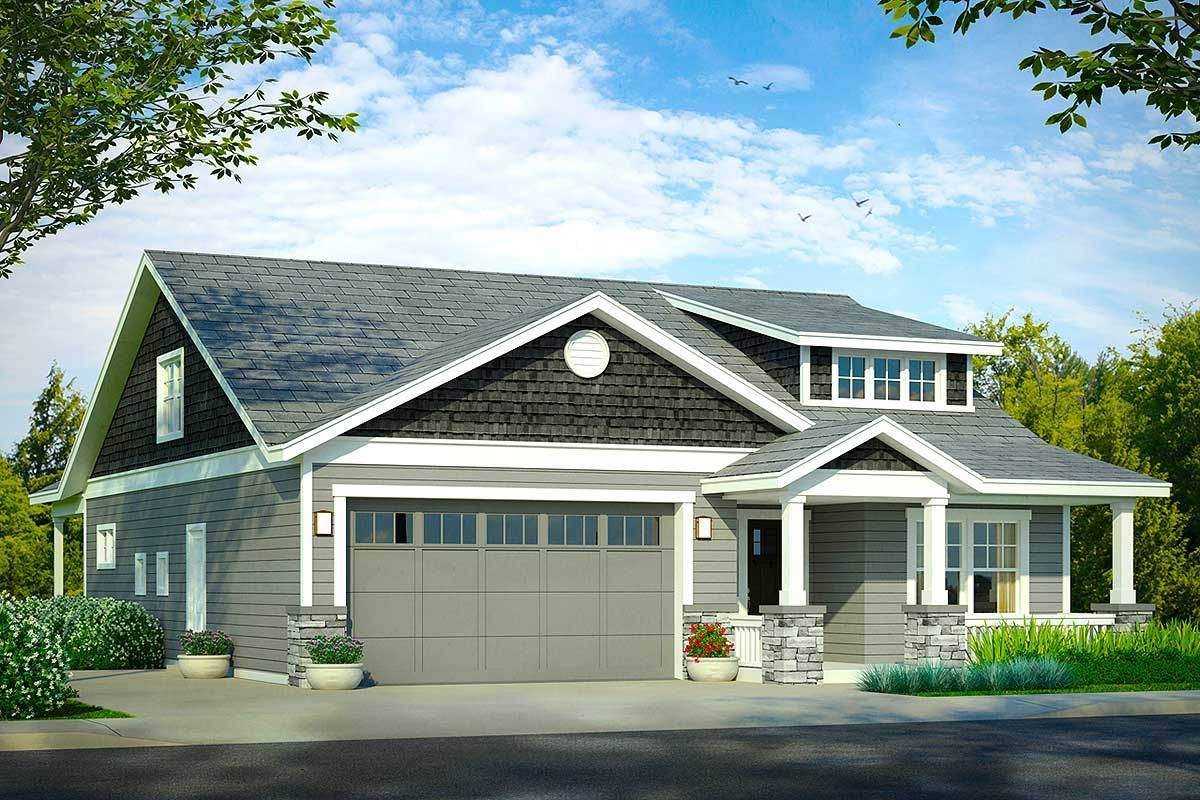 Bungalow Your Narrow Lot Architectural