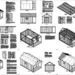 Cabin Guest House Building Covered Porch Shed Plans