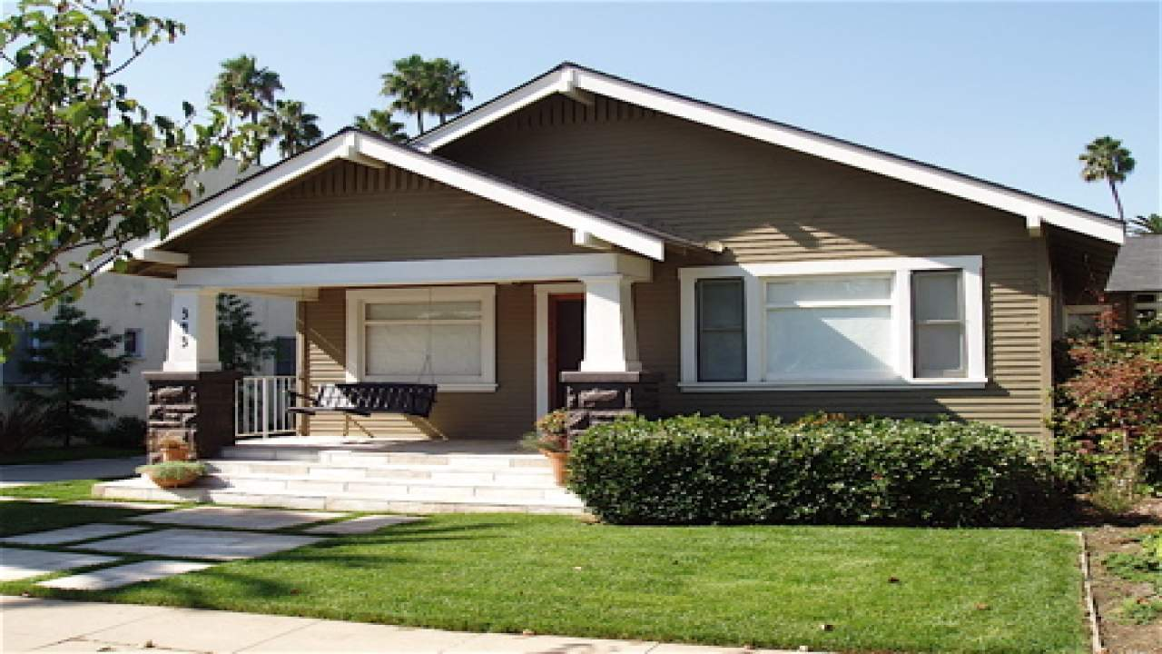 California Craftsman Bungalow Style Homes Old