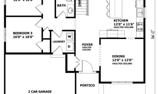 Canadian House Designs Floor Plans