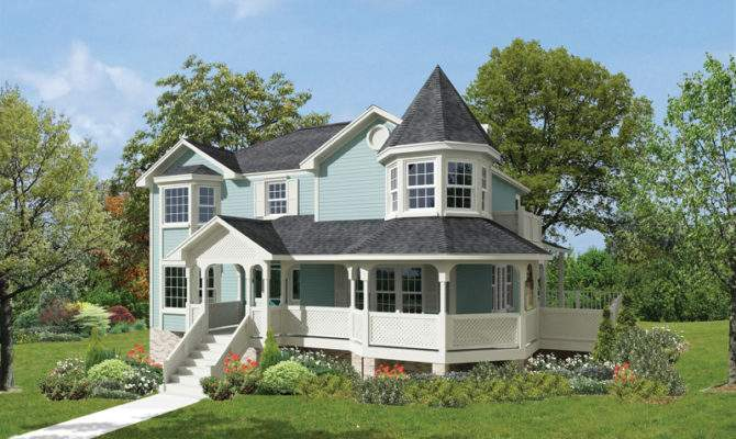 Candlewick Victorian Home Plan House Plans