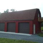 Car Pole Garage Gambrel Roof Customer Projects September