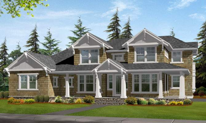 Carberry Craftsman Home Plan House Plans More