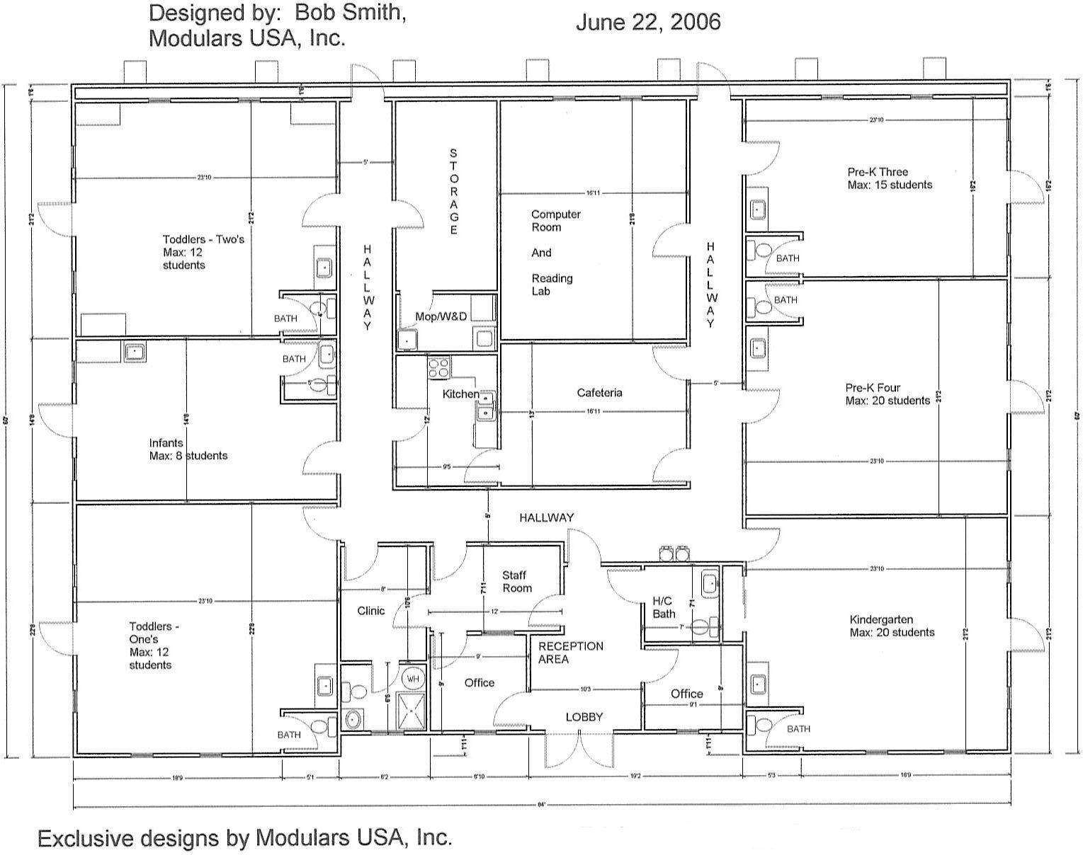 Care Center Floor Plans Plan Mindexpander Day