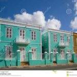 Caribbean Style Architecture Colorful House