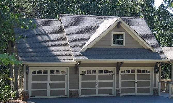 Carriage House Plans Craftsman Style Plan