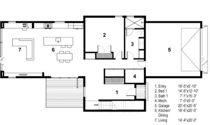 Case Forma Shaped House Plans