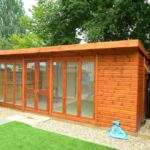 Case Study Self Contained Summer House Integrated Bathroom