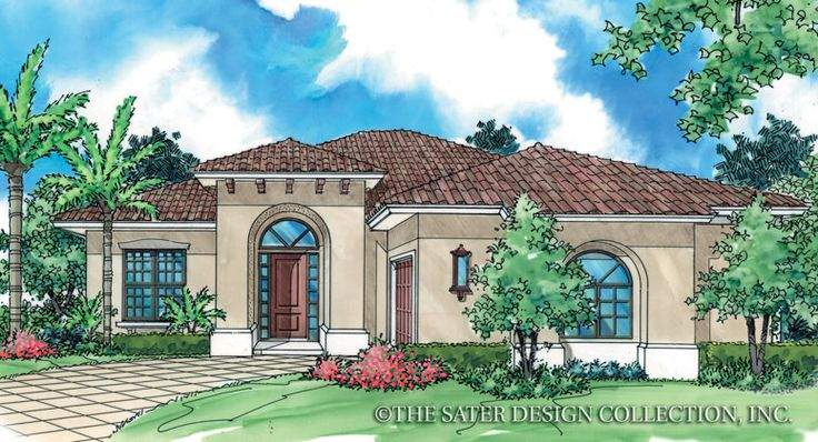 Cateena Sater Design Collection Luxury House Plan