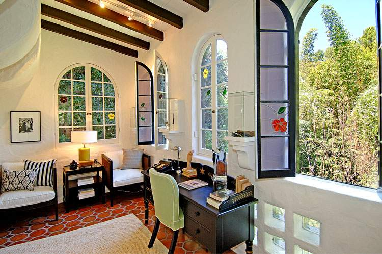 Charlie Sheen Mediterranean Style Home Hooked Houses