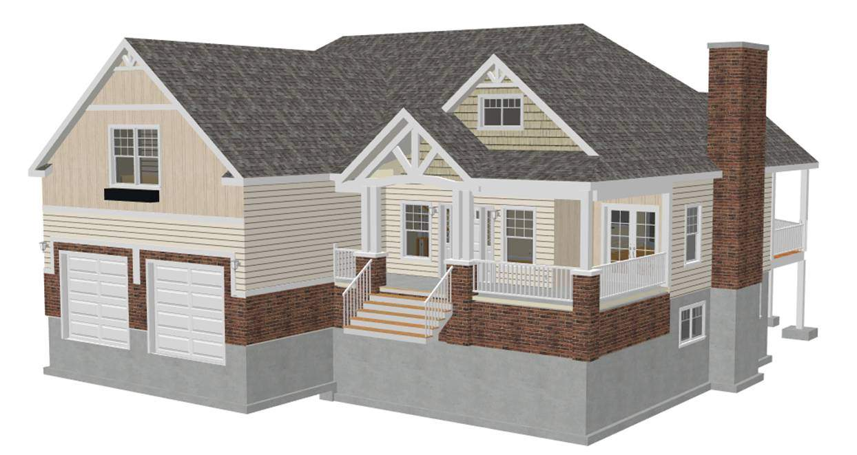Charm Country Cottage Style House Plans Blueprints Sds