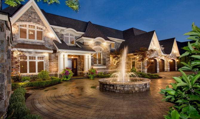 Classic French Country Estate Bill Frame Custom Homes