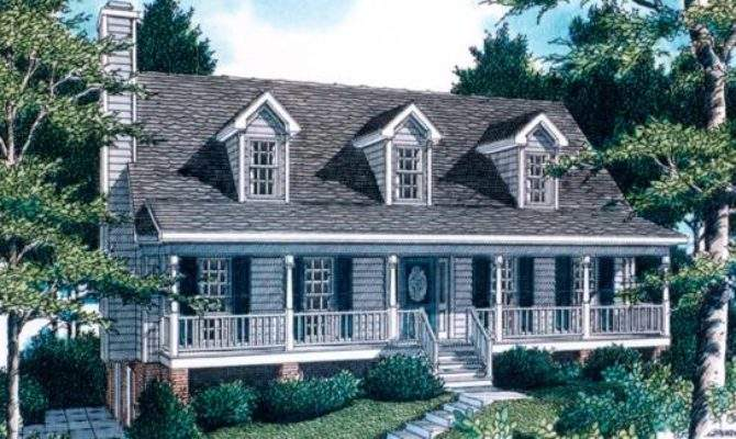 Classic Home Plan Open Living Dining