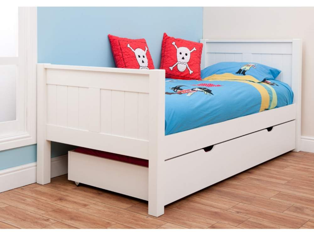 Classic Single Bed Trundle Stompa