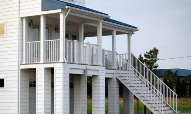 Coastal House Plans Elevated Brucall