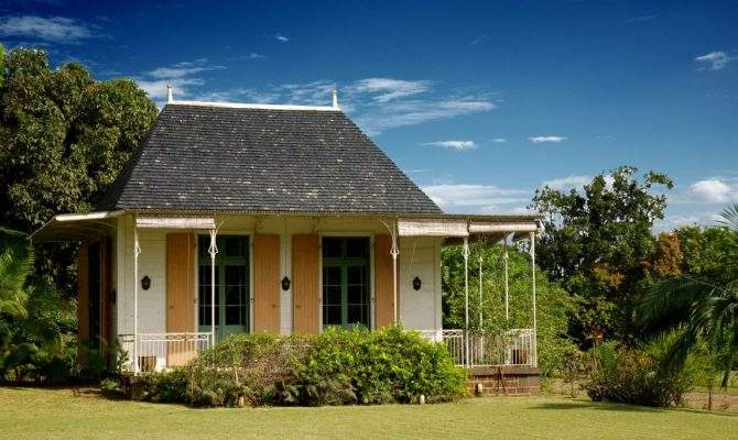Collection Architecture Small Colonial House Eureka Mauritius