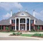 Colonial House Plans Featured Luxury
