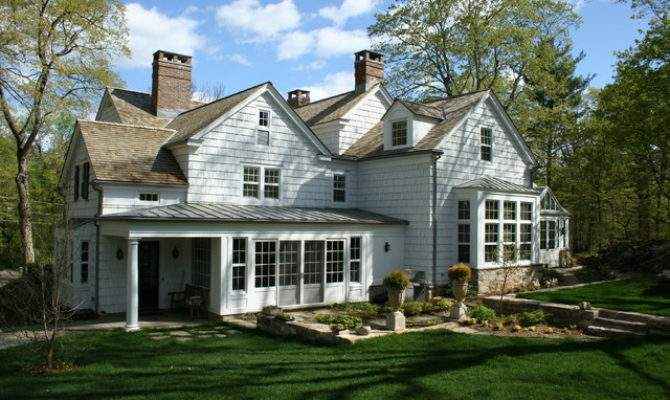 Colonial Revival Exteriors Additions Conservatory