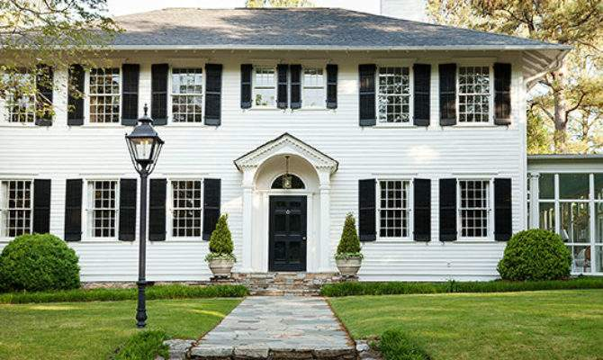 Colonial Style Home Ideas